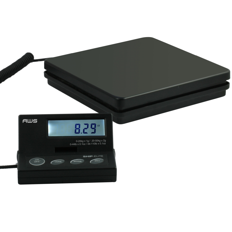AWS SE-50 Ship Elite Postal Shipping Scale 110lb x 0.1oz
