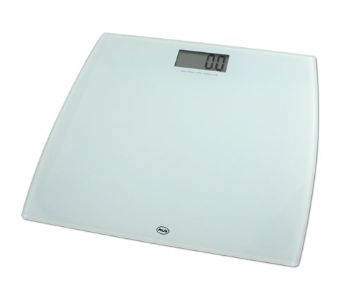 AWS 330LPW Low Profile Bathroom Scale 330 x 0.2lb