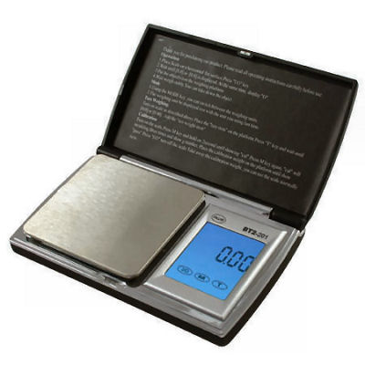 AWS BT2-201 Digital Pocket Jewelry Scale 200g x 0.01g