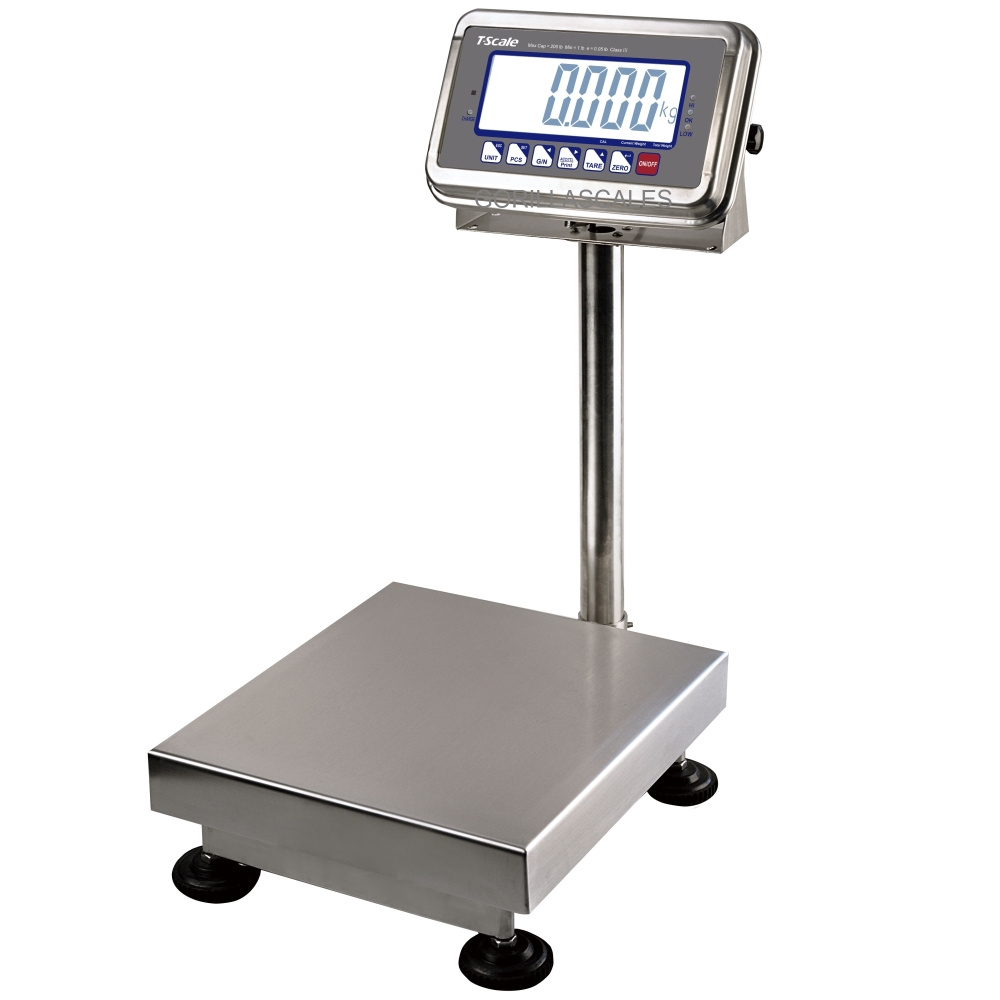 T-Scale BWS-50 NTEP Platform Bench Floor Scale 50lb x 0.01lb
