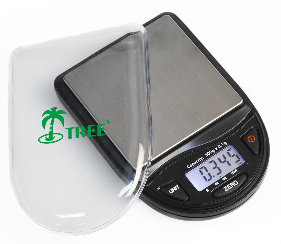 Tree CCT 500 Mini Digital Pocket Scale 500g x 0.1g