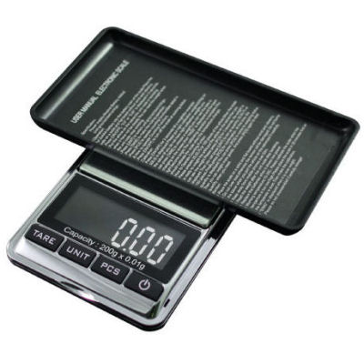 AWS CHROME 201 Digital Pocket Scale 200g x 0.01g PCS Counting