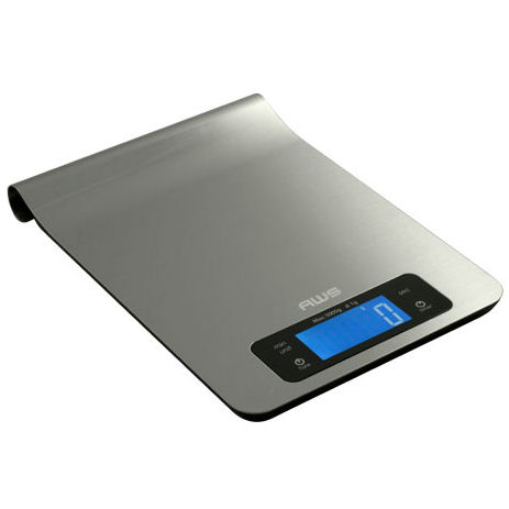 AWS EP-5KG Epsilon Digital Kitchen Scale 11lb x 0.1oz