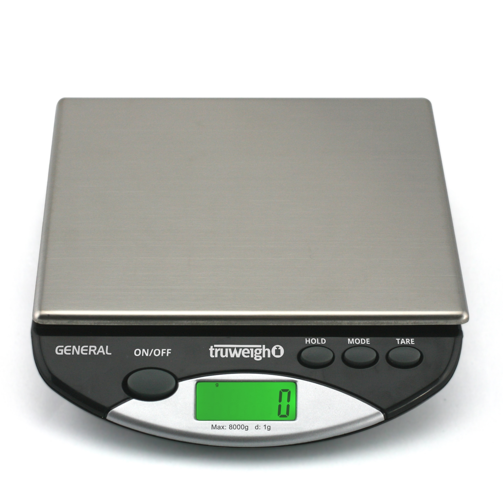 TruWeigh GENERAL Compact Digital Kitchen Scale 8000g x 1g