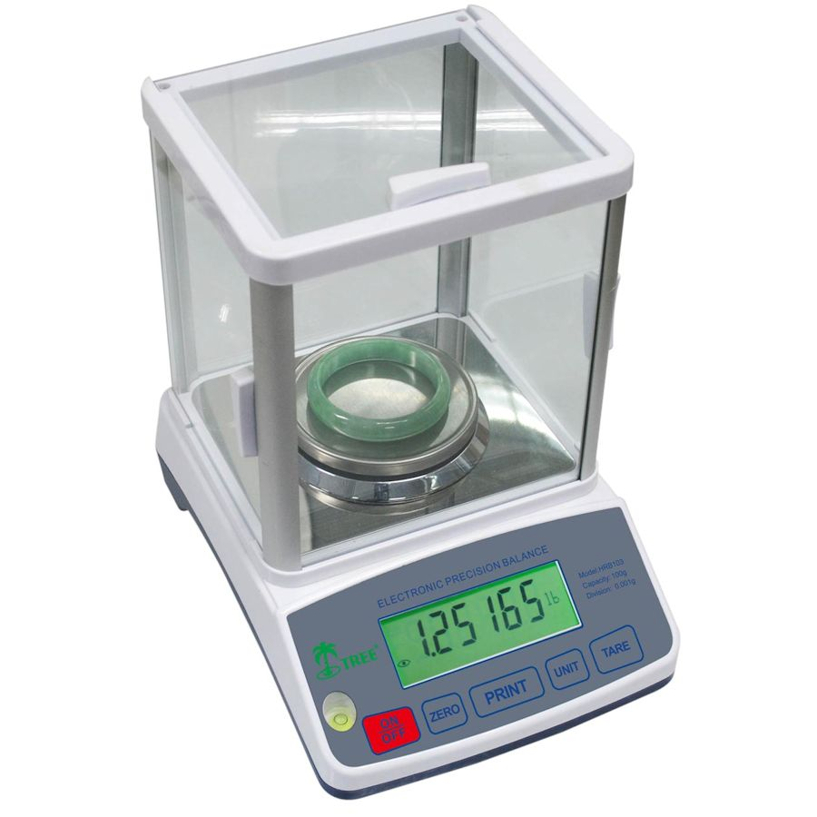 Tree HRB-203 Precision Milligram Balance Lab Scale 200g x 1mg - Click Image to Close