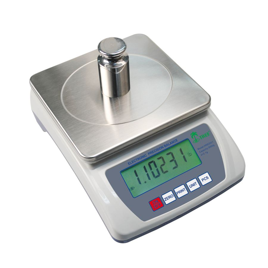 Tree HRB-3001 Compact Bench Scale 3000g x 0.1g Counting & RS-232