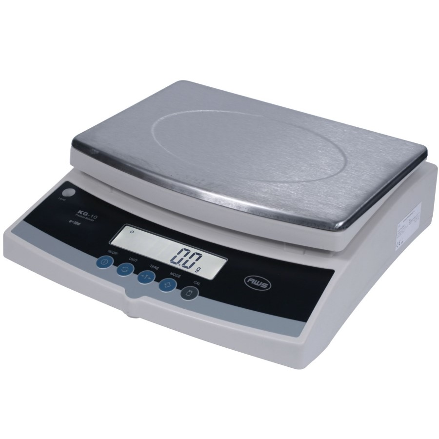 AWS KGX-10 High Capacity Precision Bench Scale 10kg x 0.1g