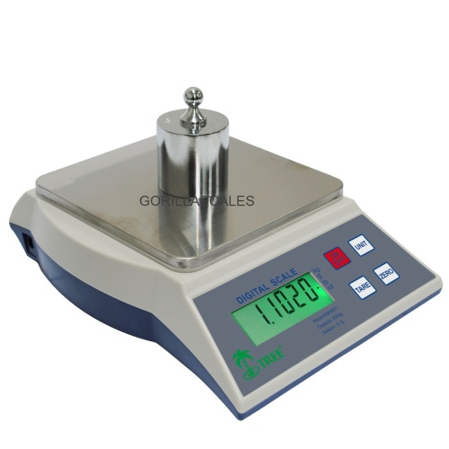 Tree KHR-3000 Table Top Loader Digital Bench Scale 3000g x 0.1g