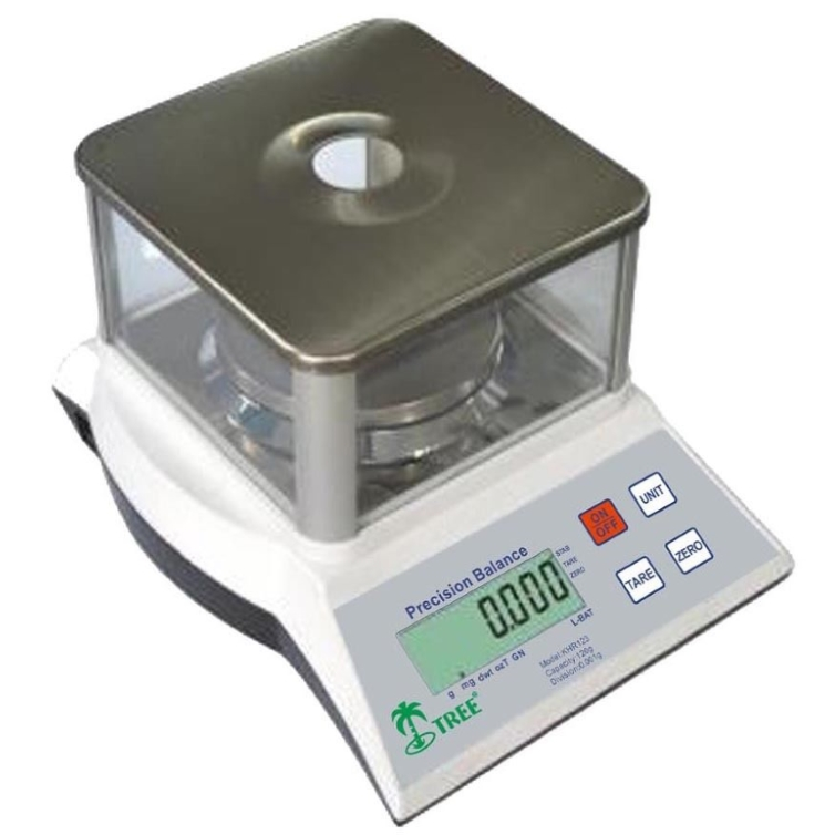 Tree KHR 123 Precision Lab Balance Milligram Scale Top Loader
