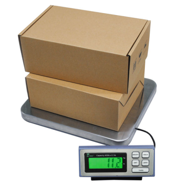 Tree LSS-400 Large Shipping Digital Bench Scale 400lb x 0.1lb