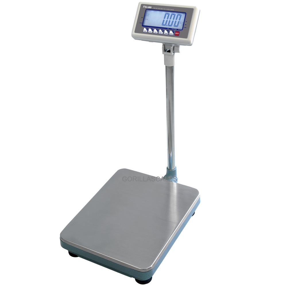 T-Scale MBW-500 NTEP Heavy Duty Bench Scale 500lb x 0.1lb RS232C