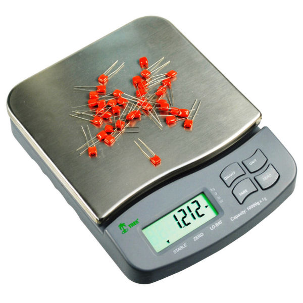 Tree MRB-2500 Precision Compact Digital Scale 2500 Grams x 0.1g