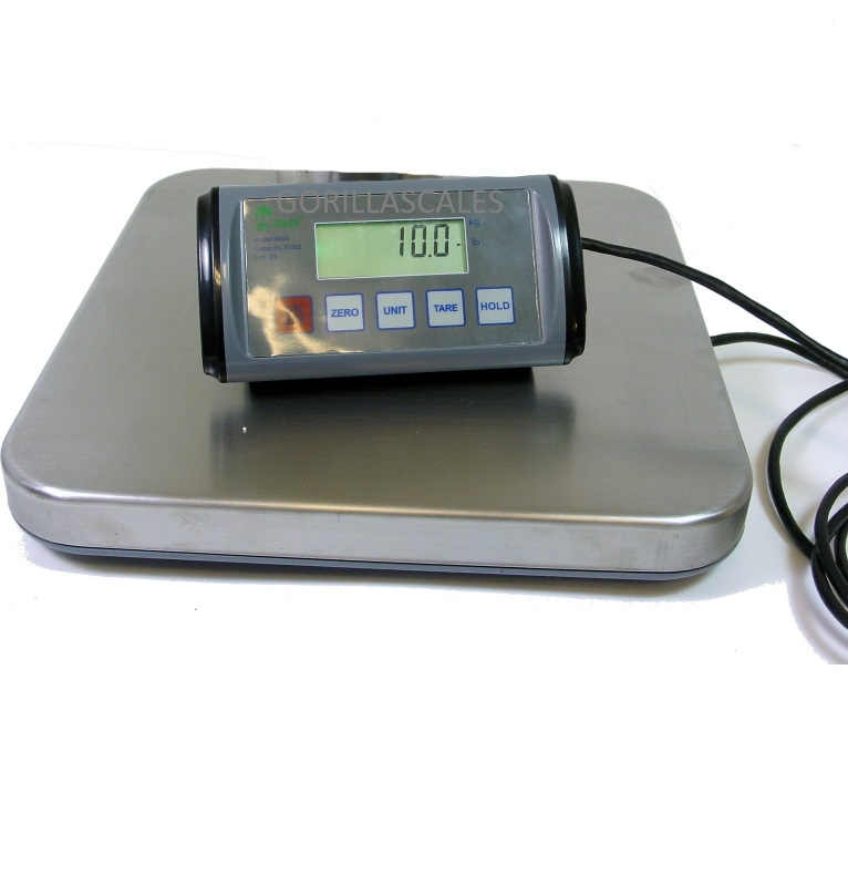 Tree MSS-330 Shipping Postal Scale 330lb x 0.1lb AC Power