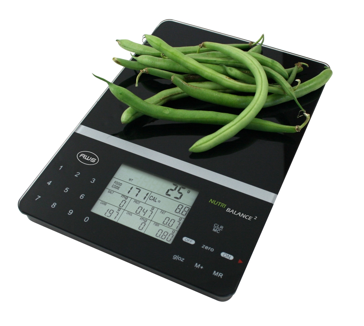 AWS NB2-5000 Nutritional Food Kitchen Scale 5000g x 1g