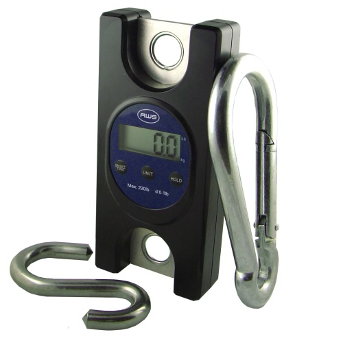 AWS TL-330 Industrial Digital Hanging Scale 330lb x 0.2lb