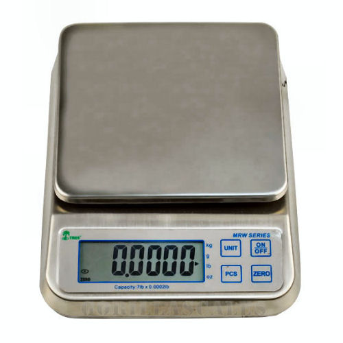 Tree MRW-3 Bench Scale WashDown Counting Balance 3lb x 0.0001lb
