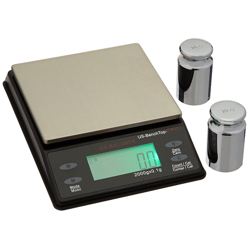 US Balance Bench Top Pro 2000g x 0.1g Parts Counting Scale
