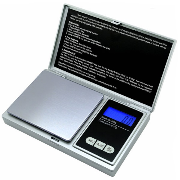 ACE 100 US Balance Digital Jewelry Scale 100g x 0.01g