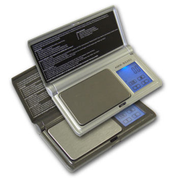 AMW BS-100 Touchscreen Pocket Scale 0.01g Grain & Carat