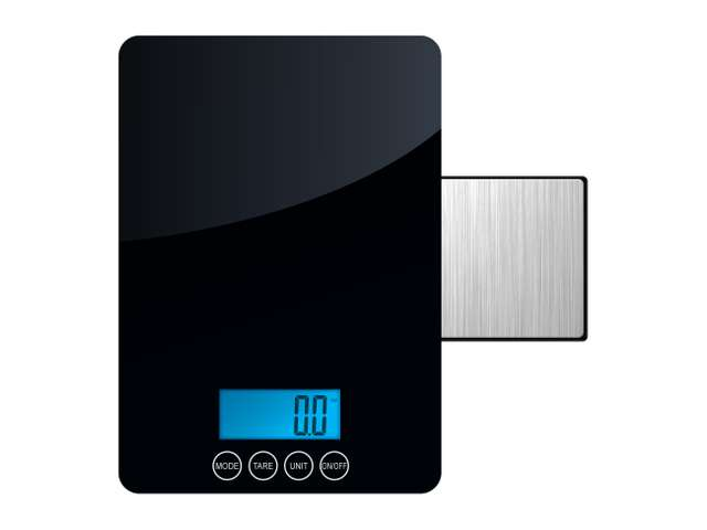 AWS DK-5K Digital Kitchen Food Scale Dual Weighing Modes