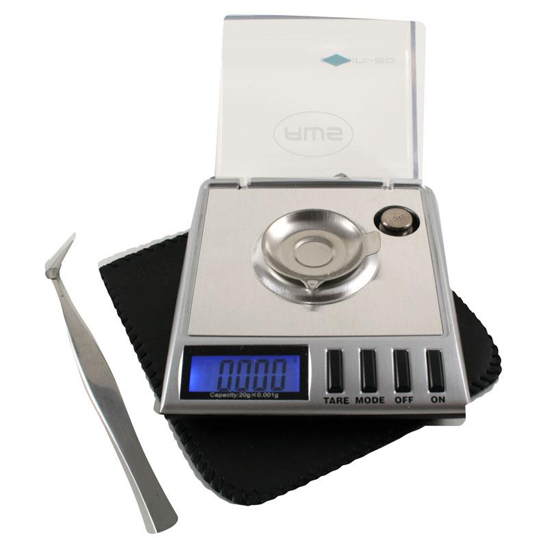 AWS Gemini-20 Precision Milligram Lab Scale 20g x 0.001g Grain
