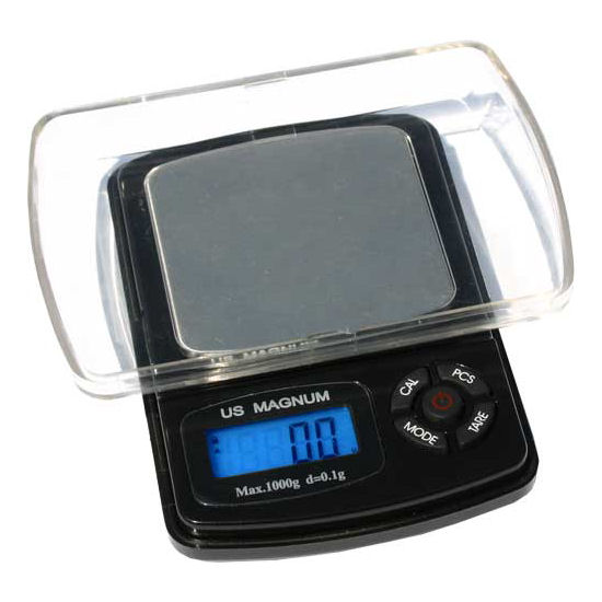 US Balance Magnum 1000XR Digital Pocket Scale 1000g x 0.1g