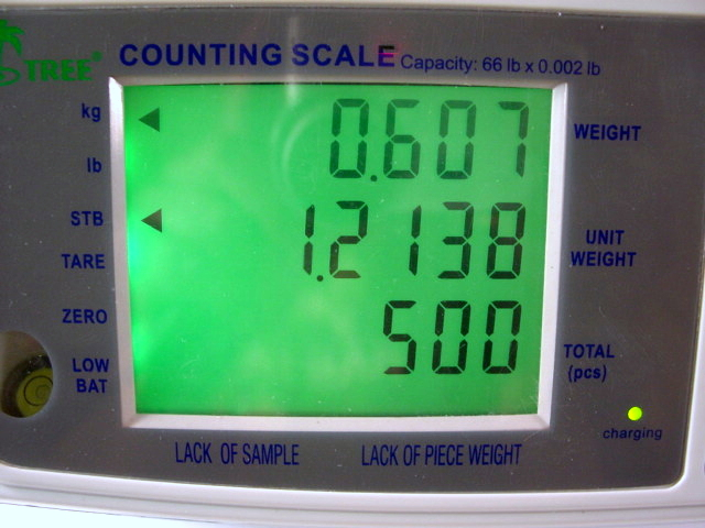 Tree MCT 33 Plus Digital Parts Counting Scale 33lb x 0.001 Pound