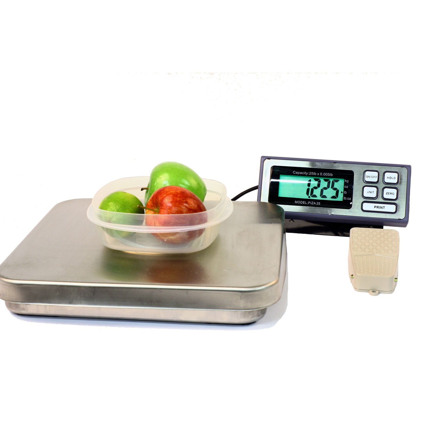 Pizza Kitchen Bench Scale 12lbs x 0.002lb Tree PIZA 12 RS232 AC
