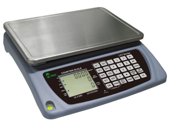 Tree LCT-16 Digital Bench Counting Scale 16 lb x 0.0005 lb
