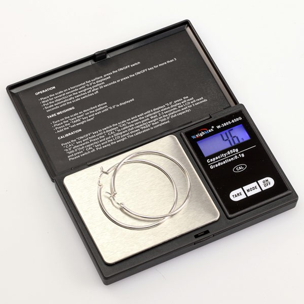 Wholesale - Weighmax W-3805-1000 Pocket Scales 1000g x 0.1 Gram