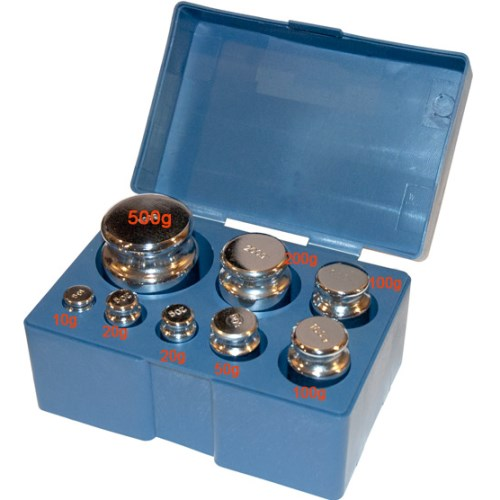 1000g Scale Calibration Test Weight Kit Set OIML M2 Class