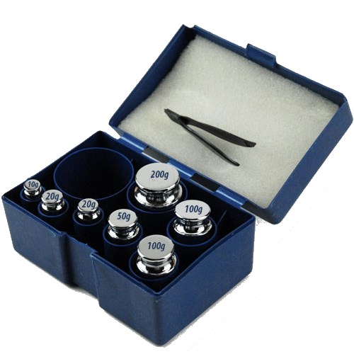 500g Scale Calibration Test Weight Kit Set OIML M2 Class
